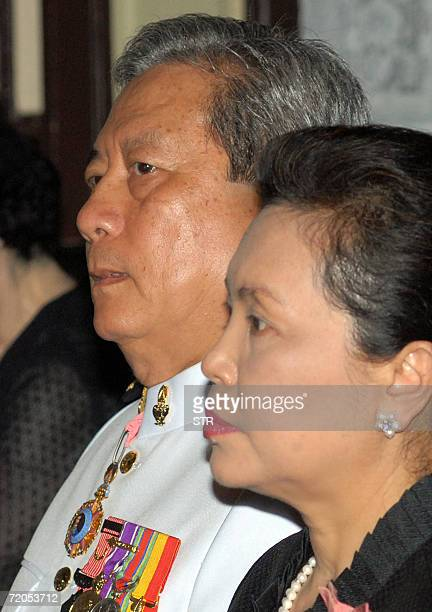 THAILANDOUT Thailand's former Army Chief retired General Surayud Chulanont attends a funeral ceremony of Privy Councillor Chulanope Snidvongsna...