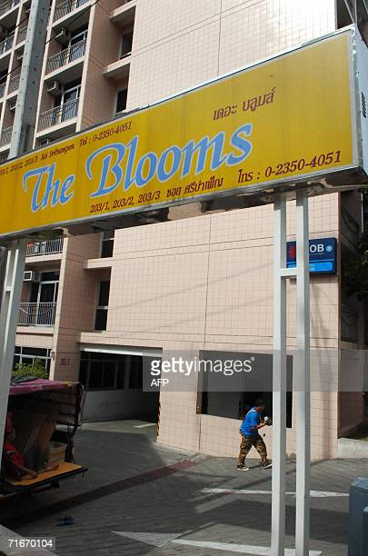 The apartments used by US teacher John Mark Karr is seen a day after he was arrested by Thai police in Bangkok 18 August 2006 Thailand moved to...