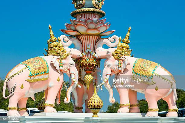 Bangkok, the three elephants