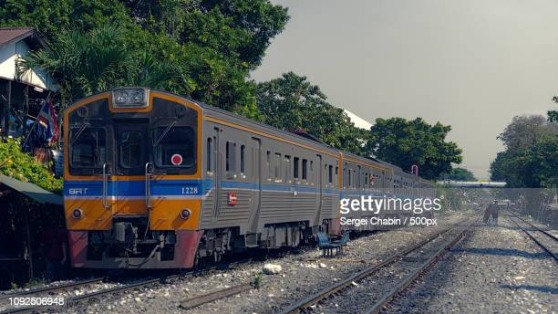 bangkok, train - sergei stock pictures, royalty-free photos & images