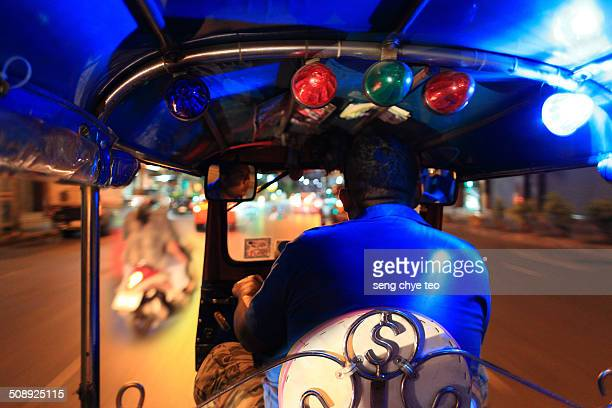 Bangkok transportation TUK TUK
