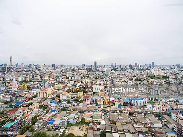 Bangkok urban cityscape