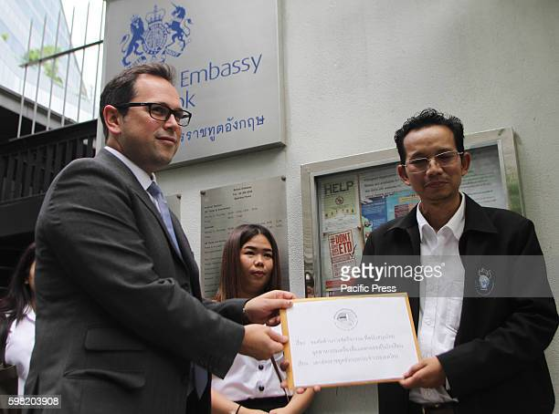 BangkokThailand Mr Komrong Chudecha coordinator Surveillance Network liquor business filed a submitted letter to Mr Daniel Filler Second Secretary in...