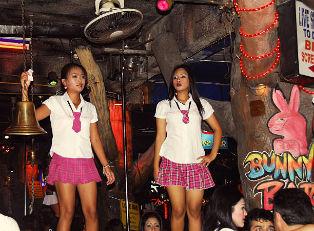 Phuket Thailand School Girl Bar Fun Pictures  Getty Images-3880