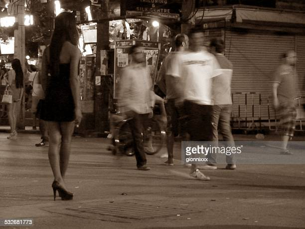Bangla road nightlife, Patong Thailand