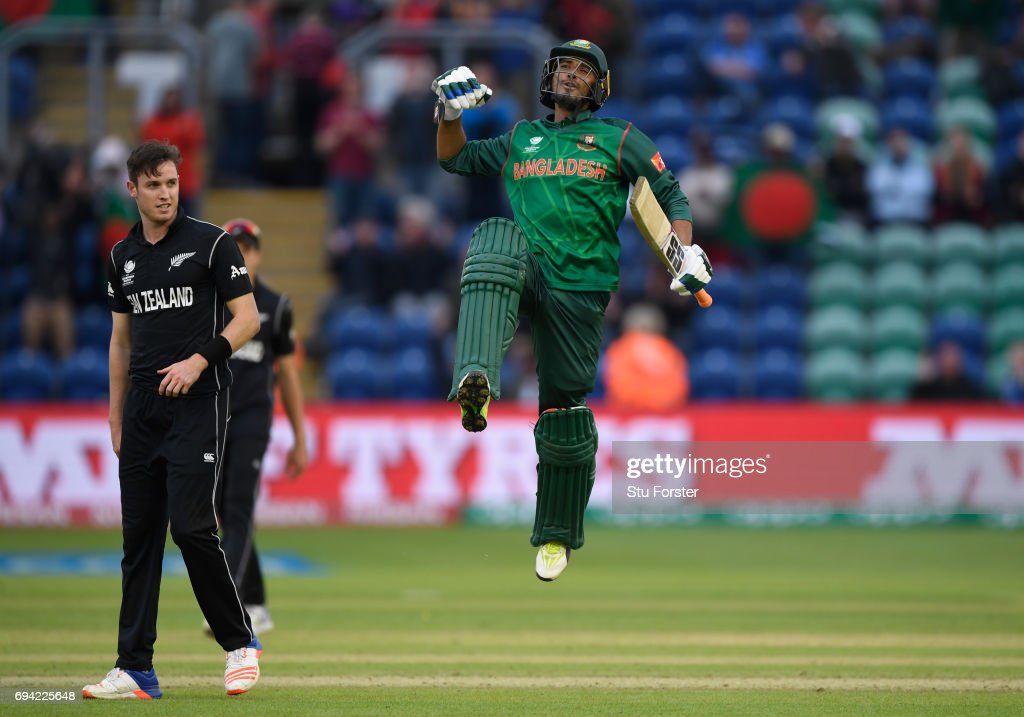 New Zealand v Bangladesh - ICC Champions Trophy : News Photo