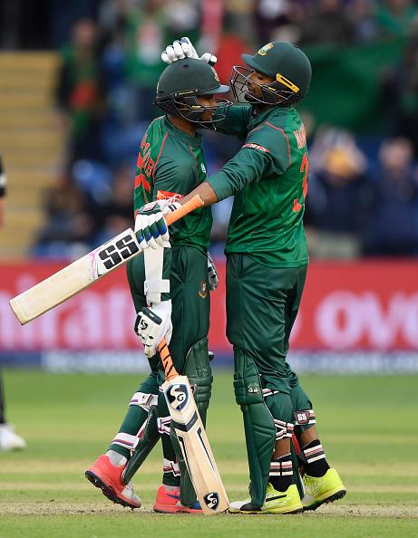 New Zealand v Bangladesh - ICC Champions Trophy : News Photo