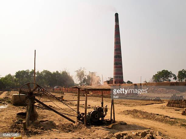 Bangladesh Brick factory a major pollutant