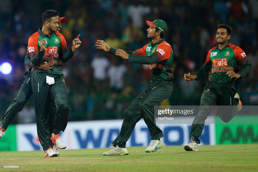 Sri Lanka v Bangladesh Twenty - 20 Cricket Match : News Photo