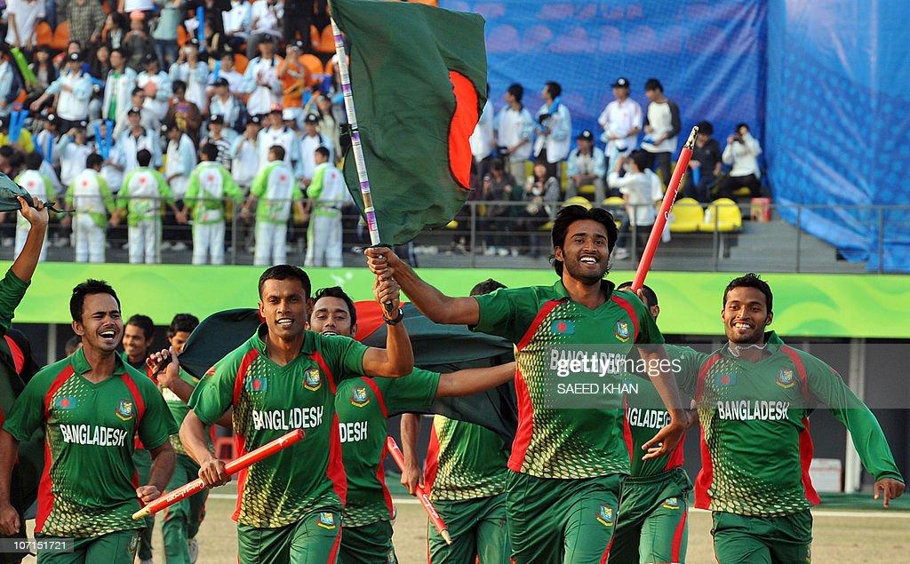 Bangladesh cricket team players invade t : News Photo