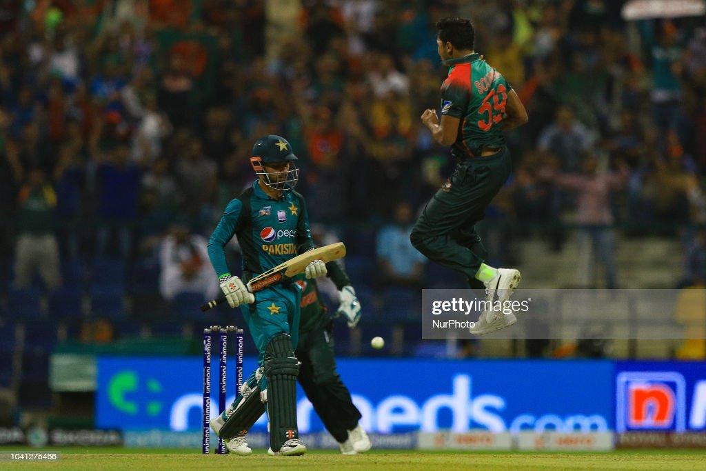 Pakistan v Bangladesh - Asia Cup 2018 : News Photo