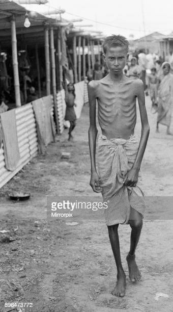 Bangladesh Famine Mirpur Camp A shortage of food in his village 150 miles away drove him to Dacca On foot and by country boat he reached the Relief...
