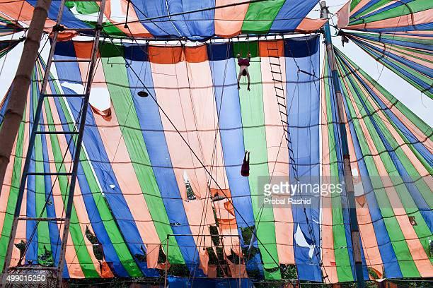 GAZIPUR DHAKA BANGLADESH DHAKA BANGLADESH Bangladesh has a long history of traditional circus troupes Currently about eight large circus companies...