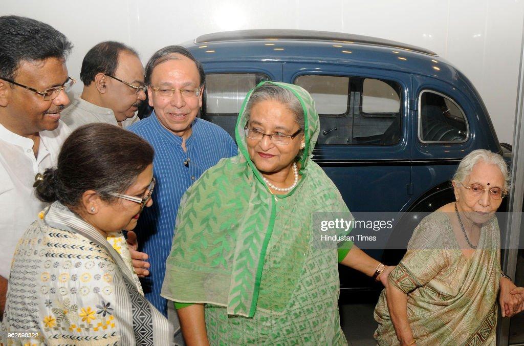 Bangladesh Prime Minister Sheikh Hasina Visits Netaji Bhawan In Kolkata