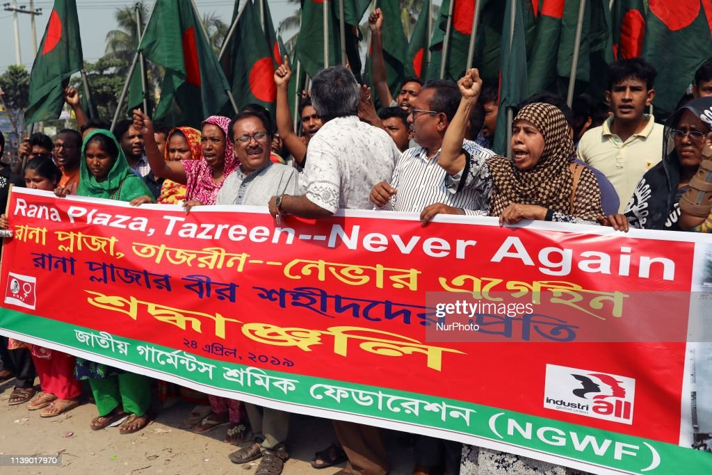 BGD: Anniversary Of Factory Collapse In Dhaka