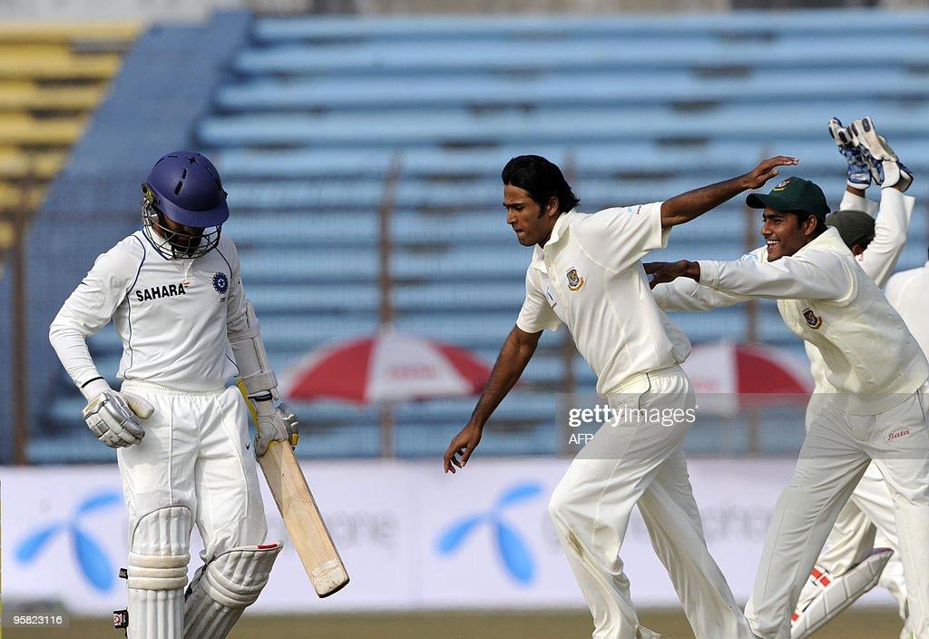 Bangladeshi cricketer Shahadat Hossain ( : News Photo