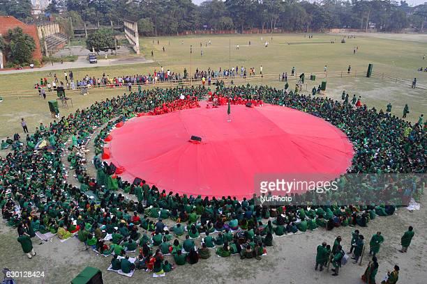 Bangladeshi Cultural Organization Chayanot organized a cultural program at Dhaka University play ground during the Victory Day celebrations in Dhaka...