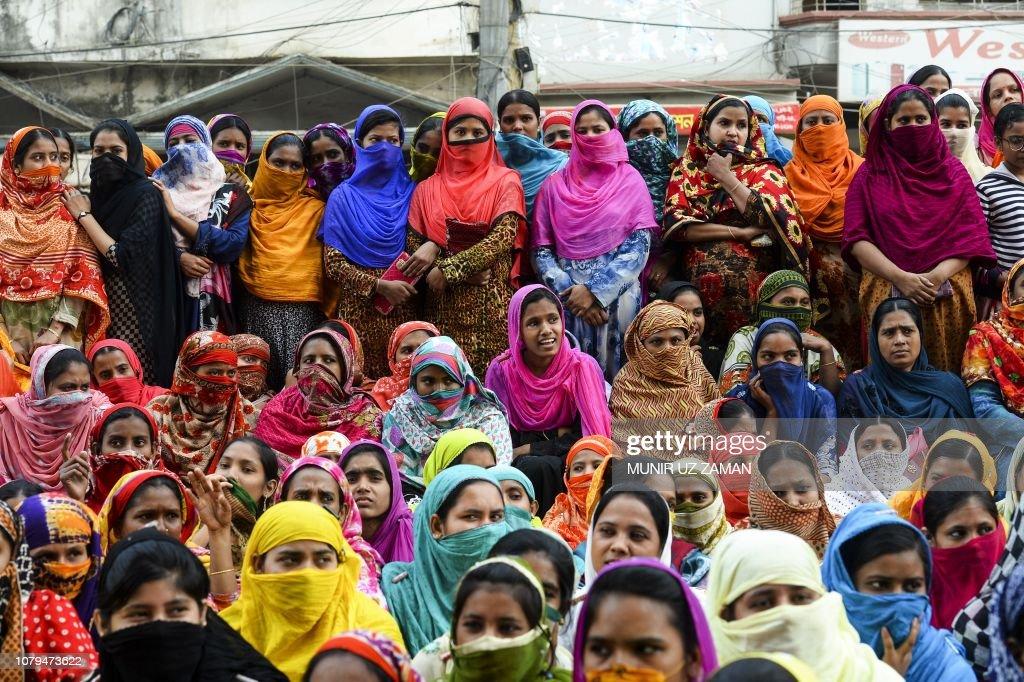 BANGLADESH-UNREST-LABOUR : News Photo
