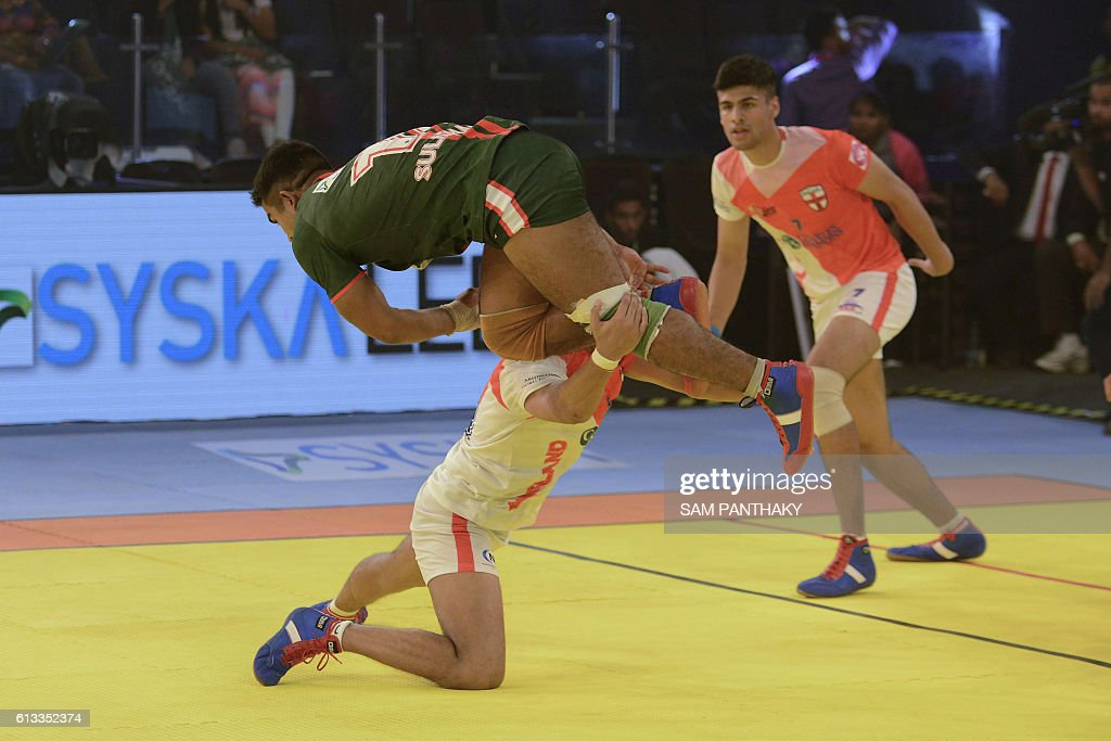 KABADDI-WCUP2016-ENG-BAN : News Photo