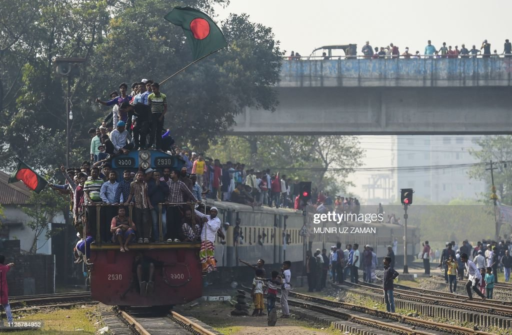 TOPSHOT-BANGLADESH-RELIGION-ISLAM : Foto jornalística