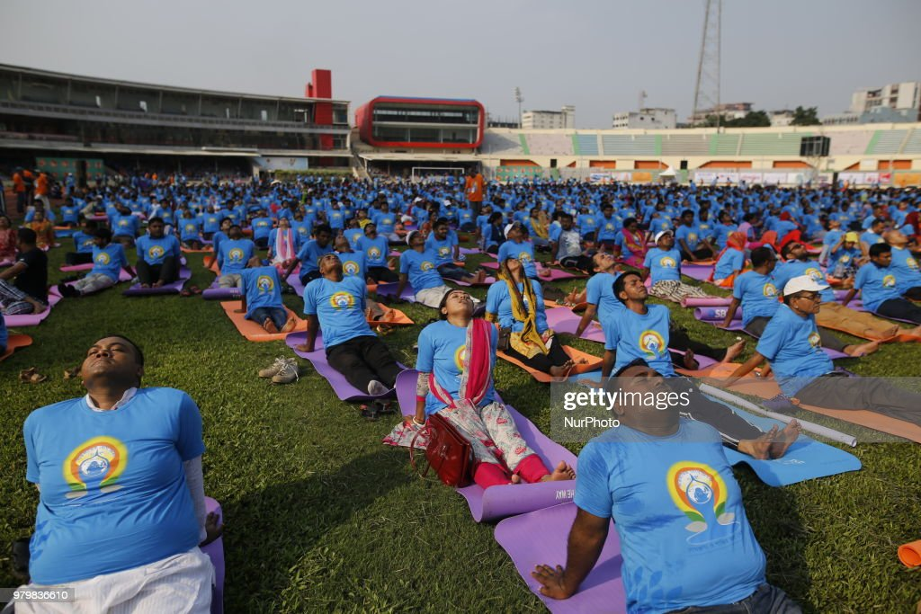International Yoga Day In Bangladesh