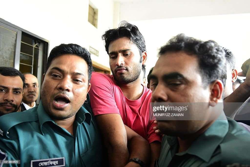 BANGLADESH-CRICKET-CRIME : News Photo