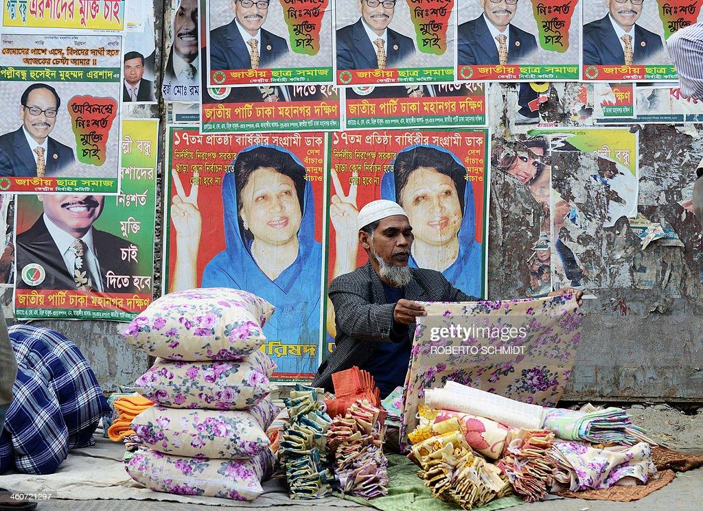 BANGLADESH-ELECTION-UNREST : News Photo