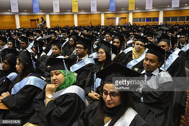 Bangladeshi Teachers and Students are participants the Convocation ceremony at Bangobandhu International Conference Center in Dhaka Bangladesh on...