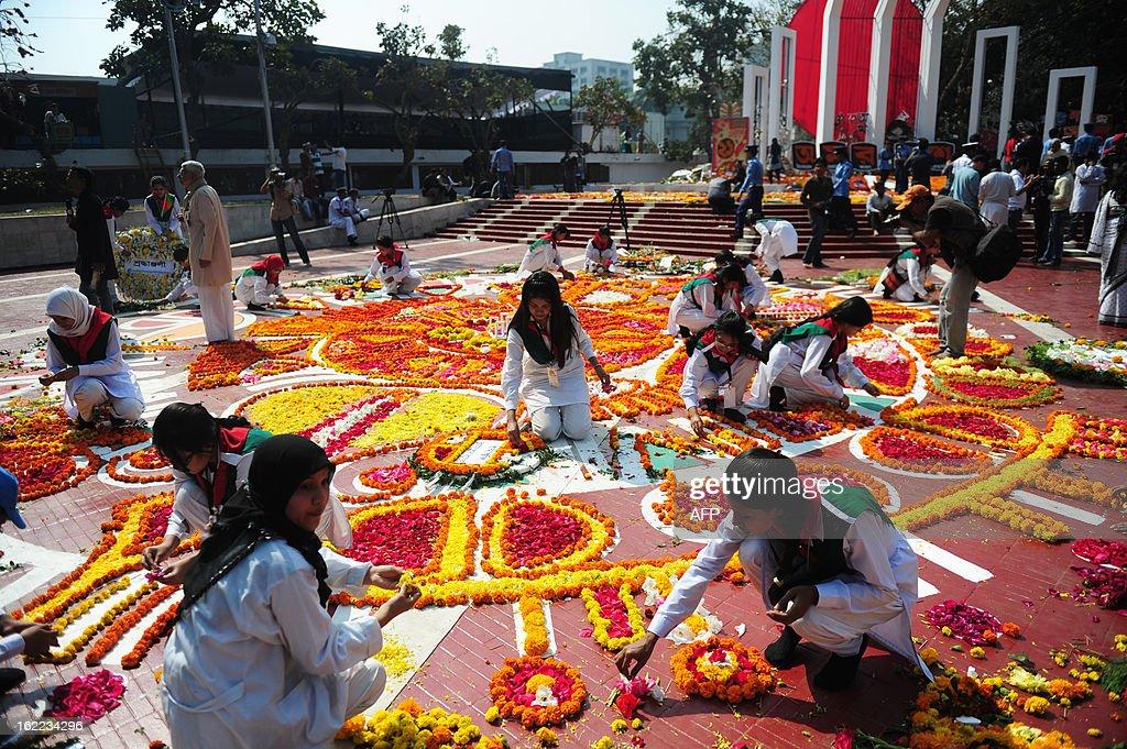 BANGLADESH-LANGUAGE-DAY : News Photo