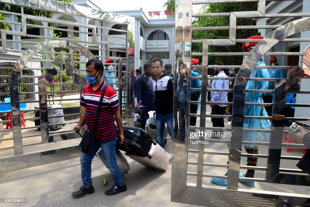 People Arrived From Italy In Home Quarantined In Dhaka : News Photo