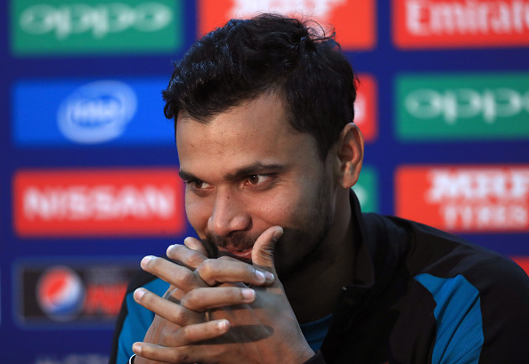 Bangladesh Press Conference - ICC Champions Trophy - The Oval : News Photo