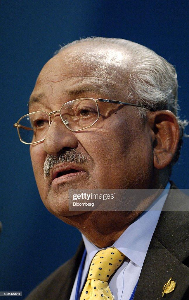 Bangladesh\'s Central Bank Governor Saifur Rahman speaks duri ...