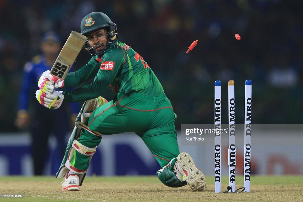 Sri Lanka v Bangladesh - Cricket : News Photo