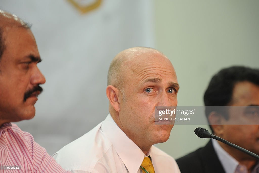 Bangladesh's new cricket coach Richard P : News Photo