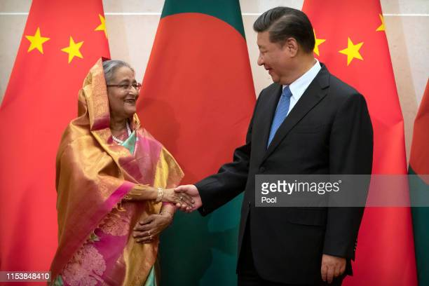 Sheikh Hasina Wajed Pictures and Photos - Getty Images