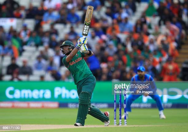 Bangladesh's Sabbir Rahman during the ICC Champions Trophy semifinal match at Edgbaston Birmingham