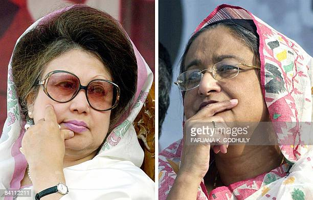 BangladeshvoteZiaHasinaPROFILE by Shafiq Alam In this combination of pictures created on December 23 Bangladesh's last prime minister Khaleda Zia and...