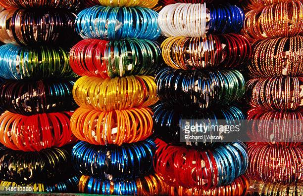 Bangles for sale at Sardar Market in the old city.