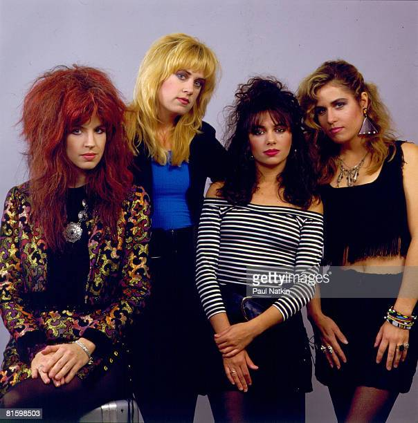 Bangles on 8/19/86 in Chicago, Il.