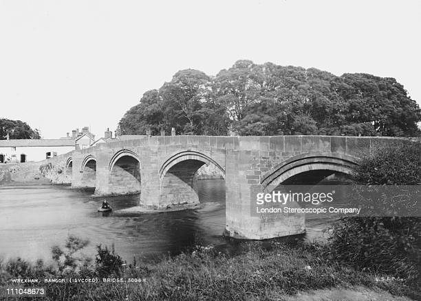 Bangor Bridge at Wrexham Flintshire Wales circa 1910