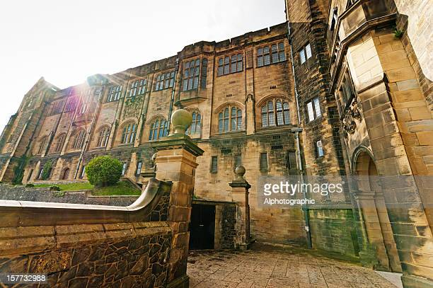 bangor university - bangor wales stock photos and pictures