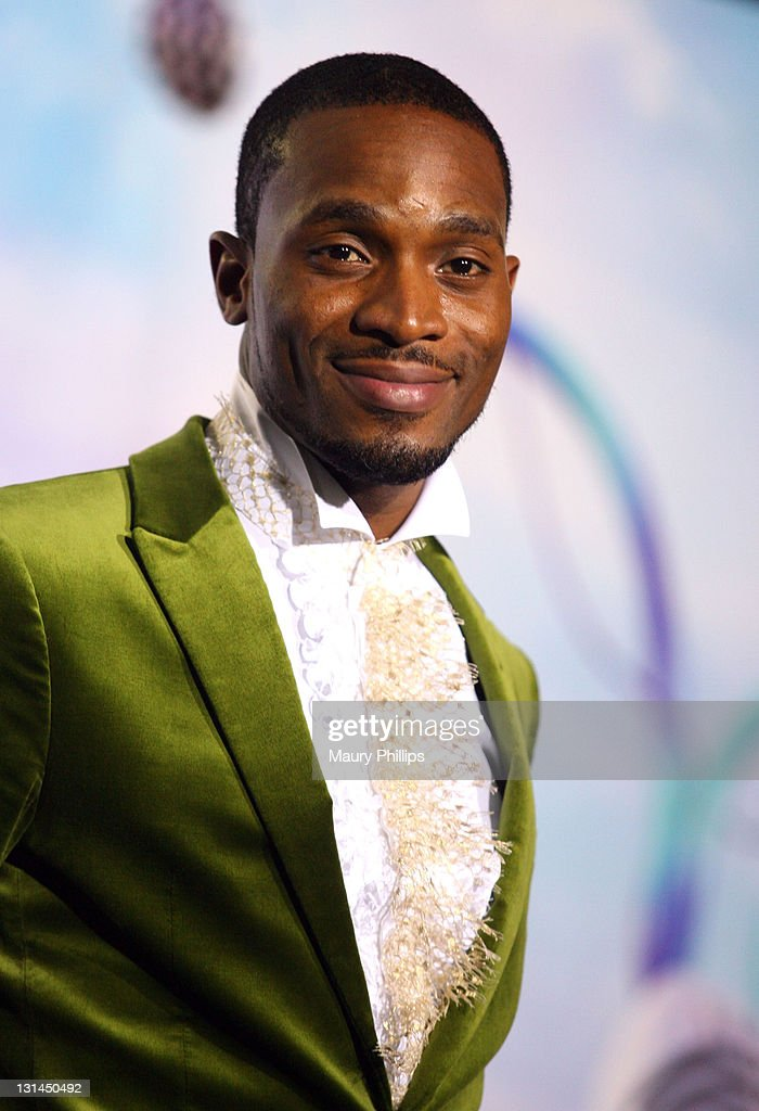 D'banj poses in the press room at the BET Awards '11 held at The Shrine Auditorium on June 26, 2011 in Los Angeles, California.