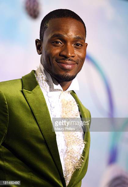 Banj poses in the press room at the BET Awards '11 held at The Shrine Auditorium on June 26, 2011 in Los Angeles, California.