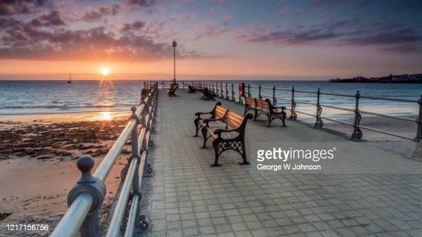 banjo pier ii - non urban scene stock pictures, royalty-free photos & images