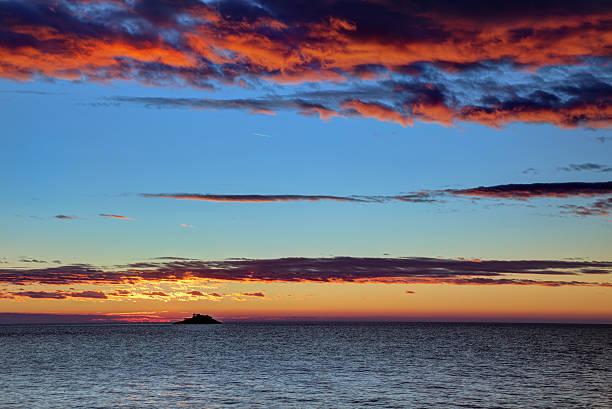 Banjol Island Sunset Wall Art