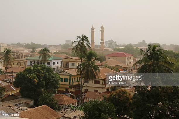 Banjul rooftops from Arch 22, the Gambia