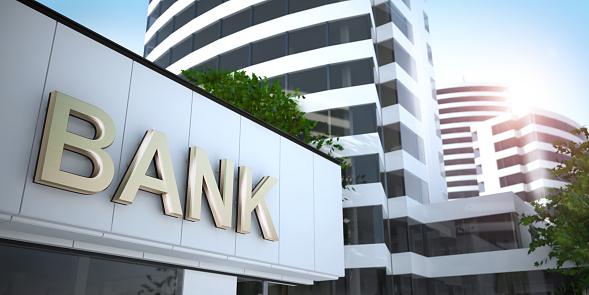 Bank, 3D illustration 1089881960