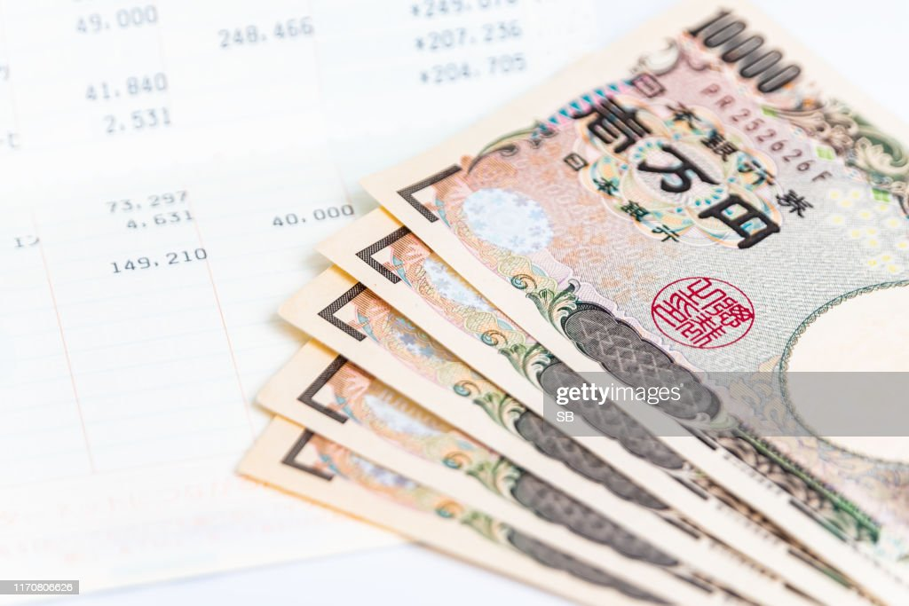 bank account book : Stock Photo