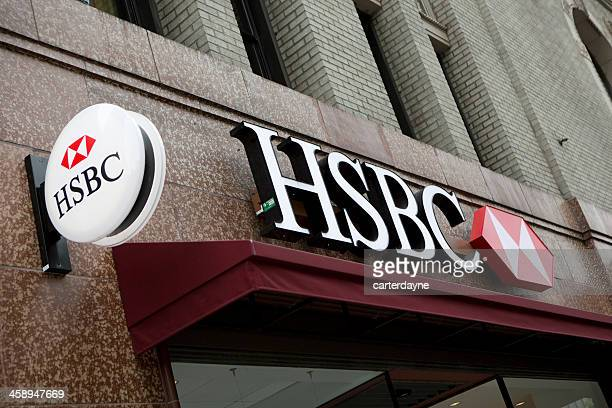 HSBC Bank Branch in downtown Seattle