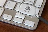 Bank loan online banking